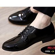 Giày Da nam cực chất xả kho giá gốc mã - giày lười nam MÃ L162 thumbnail