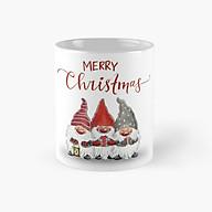 Cốc Giáng sinh Merry Christmas ly sứ có quai cầm thumbnail