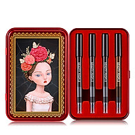 Bộ bút chì vẽ viền mắt sắc màu sành điệu BEAUTY PEOPLE Lofty Girl Doll Eye Special Makeup Set 0.3GR thumbnail