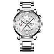 Đồng hồ thời trang business nam NIBOSI chính hãng NI2328.02 (Phụ kiện thời trang) fullbox, chống nước - chạy full 6 kim, mặt kính Mineral, dây hợp kim cao cấp không gỉ thumbnail