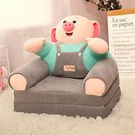 Ghế Lười Bông Cho Bé Hình Thú Pig ( Heo Mặc Yếm ) thumbnail