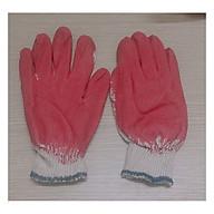 10 đôi Găng Tay Vải Lao Động, Làm Vườn, Chống Cắt, Chống Trơn Trượt, Màu Đỏ - 10 đôi Găng tay sơn đỏ thumbnail