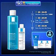 Bộ sản phẩm nước cân bằng giúp se khít lỗ chân lông và làm sạch sâu La Roche-Posay Effaclar Toner 200ml thumbnail