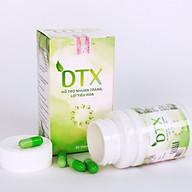 Thực phẩm bảo vệ sức khỏe DTX phục hồi hệ vi sinh đường ruột, loại bỏ ký sinh trùng lọ 20 viên thumbnail
