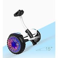 Xe điện cân bằng Mini Robot - XE ĐIỆN CÂN BẰNG THÔNG MINH - BẢN MỚI Có Bluetooth, đèn led, tay xách thuận tiện thumbnail