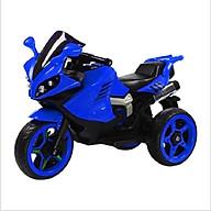 Xe máy điện moto 3 bánh LB-517 đồ chơi đạp ga cho bé vận động (Xanh - Đỏ - Trắng) thumbnail