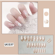 Bộ 24 móng tay giả như hình 1337 (kèm keo) thumbnail