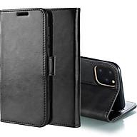 Bao da dành cho Iphone 11 Pro Max - 6.5 inch kiêm ví tiền đựng thẻ, card, bảo vệ màn hình cầm tay siêu tiện lợi thumbnail