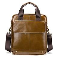 Túi đeo chéo nam da bò 100% cao cấp đựng ipad 30.5x26x6cm mã 8579NAU thumbnail