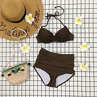 Set bikini 2 mảnh gọng xoắn nâng ngực siêu xinh thumbnail