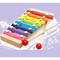 Đàn gỗ cho bé 8 thanh (tặng kèm 1 sản phẩm ngẫu nhiên) thumbnail