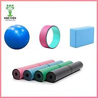 Combo 4 sản phẩm Yoga - YOGA QG 1 Thảm Yoga Định Tuyến + 1 Gạch Tập Yoga + 1 Bóng Tập Yoga Trơn + 1 Vòng Tập Yoga Trơn thumbnail