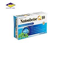 Natoobetse Q10 - Hỗ trợ hoạt huyết, dưỡng não, giúp tăng cường, tuần hoàn máu não, giảm tai biến mạch máu não thumbnail