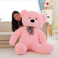 Gấu bông gối ôm cỡ lớn, thú nhồi bông cao cấp thumbnail