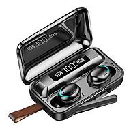 Tai Nghe Bluetooth Cảm Ứng AION TOUCH F95 Chất Lượng Cao - Chống Nước IPX7 - Nghe 90h - Tích Hợp Micro - Tự Động Kết Nối - Tương Thích Cao Cho Tất Cả Điện Thoại - HÀNG CHÍNH HÃNG thumbnail