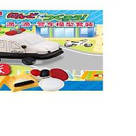 Bộ đồ chơi đất nặn bằng bột gạo Mô hình xe cảnh sát GINCHO thumbnail