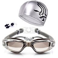 Combo kính bơi bịt tai và mũ bơi ( Màu Ngẫu Nhiên ) thumbnail