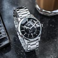 Đồng hồ nam SAMIR 0501 dây thép đúc - Hiển thị lịch ngày cao cấp Trẻ trung Năng động thumbnail