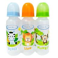 Bộ 3 bình sữa nhựa PP, thể tích 250ml thumbnail