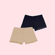 COMBO 2 Quần Mặc Váy Cotton LOIRECHIC QMV04 Co dãn Thấm Hút mồ hôi thumbnail