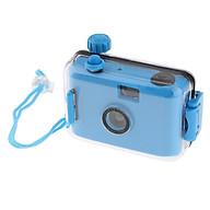 Underwater Waterproof Lomo Camera Mini Cute 35mm Film With Housing Case Blue thumbnail