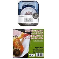 Combo Cân nhà bếp mini mẫu mới + Set 40 giấy thấm dầu mỡ đồ chiên rán nội địa Nhật Bản thumbnail