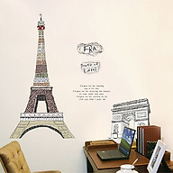 Decal Dán Tường Tháp Effel Binbin PK451 (120 x 90 cm) thumbnail