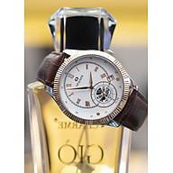 Đồng hồ nam Hegner HW-5046MRWH [Full Box] - Kính Sapphire, chống xước, chống nước - Dây da cao cấp thumbnail