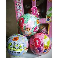 Đồ chơi 1 quả trứng búp bê bất ngờ phong cách LOL suprising doll phiên bản trang điểm tóc, hoá trang tóc kèm phụ kiện (màu ngẫu nhiên) thumbnail