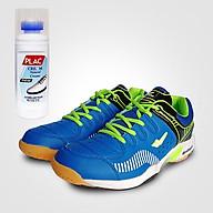 Giày cầu lông XPD chính hãng ma 855 ma u xanh ngo c - Tặng bình làm sạch giày cao cấp thumbnail