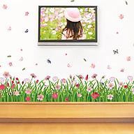 Decal dán tường trang trí phòng khách, quán cafe- Chân cánh tiên- DXL7189 thumbnail
