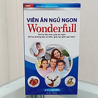 Viên ăng ngủ ngon WONDERFUL bổ sung các vitamin và dưỡng chất hỗ trợ tiêu hóa tốt, kích thích ăn ngon, dưỡng tâm an thần, giúp tạo giấc ngủ ngon ( hộp 60 viên) hàng chính hãng thumbnail