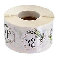 500 Cái Cuộn Cảm Ơn Bạn Stickers Niêm Phong Tròn Nhãn Giấy DIY thumbnail