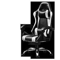 Ghế gaming bọc da cao cấp dành cho game thủ có gác chân mẫu mới thumbnail