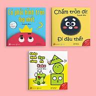 Set 3 cuốn Ehon Hình khối - Cho bé 0-6 tuổi thông minh và sáng tạo thumbnail