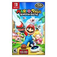 Đĩa Game Nintendo Switch Mario + Rabbids Kingdom Battle - Hàng Chính Hãng thumbnail