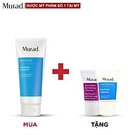 Gel rửa mặt dành cho da mụn Murad Clarifying Cleanser 200ml TẶNG Srm AHA BHA Cleanser 15ml + Sữa rửa mặt Murad Acne Control 15ml thumbnail