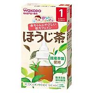 Tra Wakodo Vi Tra Xanh Cho Be 1 Tháng Nội địa Nhật bản (1.2g x 8 gói) (Tặng trà sữa cafe) thumbnail
