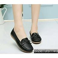 Giày mọi nữ da mềm đế cao 2p thumbnail