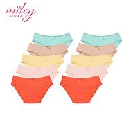 Combo 10 Quần Lót Nữ Modal Miley Lingerie New Color - Giao Màu Ngẫu Nhiên thumbnail