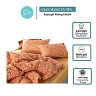 Bộ Chăn Ga Gối Cotton Living Hoa Nhí Cam thumbnail