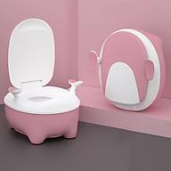 Bô ngồi toilet cho bé- màu hồng thumbnail