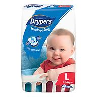 Tã Dán Drypers Wee Wee Dry Gói Đại L44 (44 Miếng) thumbnail