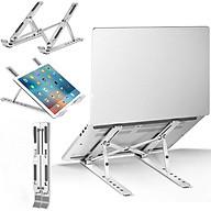 Giá Đỡ Laptop Hợp Kim Nhôm Cao Cấp Có Thể Gấp Gọn - Đế Tản Nhiệt Laptop - Macbook, Máy Tính Xách Tay - 07 Vị Trí Điều Chỉnh Góc Độ - Hàng Chính Hãng - VinBuy thumbnail