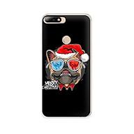 Ốp lưng dẻo cho điện thoại Huawei Y7 Prime 2018 - 01139 7939 BULLDOG03 - Bulldog chúc mừng Giáng Sinh - Hàng Chính Hãng thumbnail
