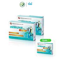 COMBO 2 tặng 1 TPCN Viên uống Hỗ trợ Tăng sức đề kháng làm giảm nguy cơ mắc bệnh do đề kháng kém Immune Gold --Hộp 30 viên thumbnail