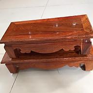 Chân kê đồ thờ, gỗ hương, thích hợp kê vật dụng bàn thờ thumbnail