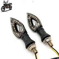 Cặp đèn LED xi nhan Moto hình quả nhót thumbnail