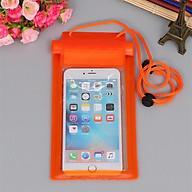 Túi chống nước cho điện thoại (Giao màu ngẫu nhiên) thumbnail