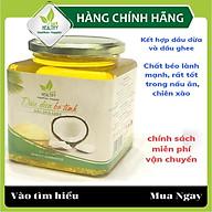 Dầu dừa ghee Viet healthy 500ml, giàu vitamin A,D,K2,E, giúp thải độc, giàu chất xơ, bảo vệ tim mạch, tăng miễn dịch thumbnail